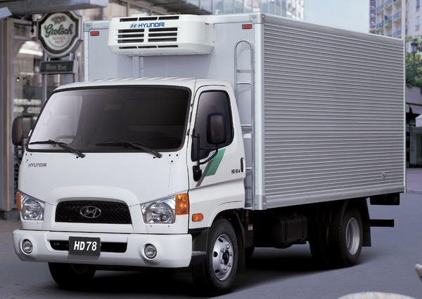 Hyundai грузовик
