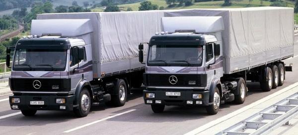 грузовики для траспортировки
