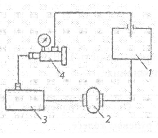 Схема проверки гидроусилителя
