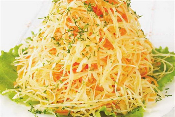 Салаты из свежей капусты рецепт с очень вкусный с уксусом