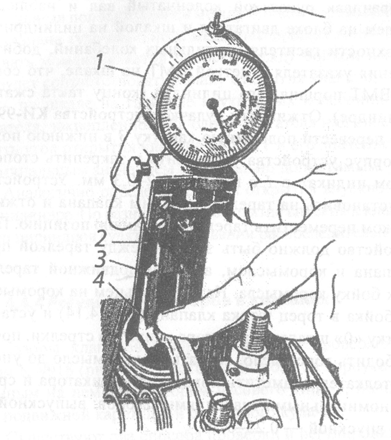 схема нумерации клапанов на камазе