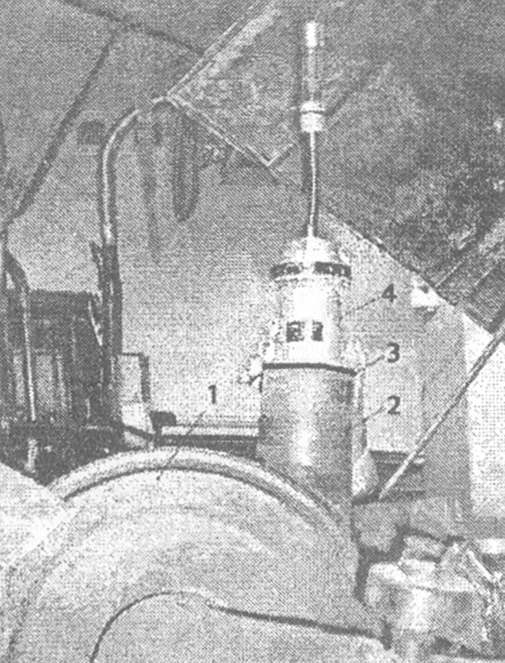 Установка индикатора расхода газов КИ-13671 на впускную трубу воздухоочистителя